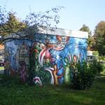 graffiti op purmerplein