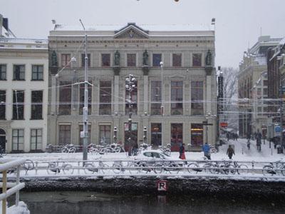 arti in de sneeuw