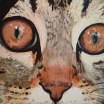 schilderij zelfportret ogen