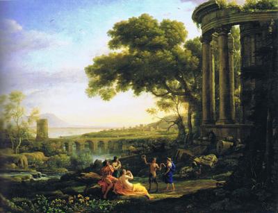 schilderij klassieke oudheid