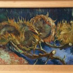 kroller muller Van Gogh uitgebloeide zonnebloemen