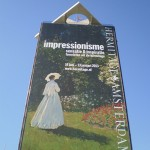impressionisme tentoonstelling Hermitage- doek op Overhoeks toren