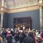 Rijksmuseum Nachtwacht met publiek