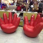 Design icons hand stoelen