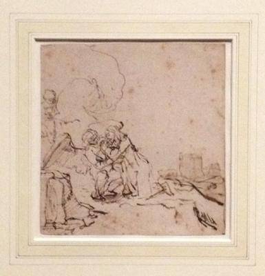 Late rembrandt eline 39 s kunstblog - Kleur schilderij ingang ...