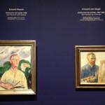 zelfportretten Munch en Van Gogh