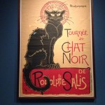 Prints in Paris 1900 affiche tournee Chat Noir door Théophile Alexandre Steinlen
